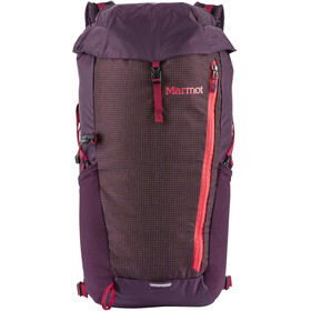 Marmot Kompressor Plus Mochila 20l, dark purple/brick